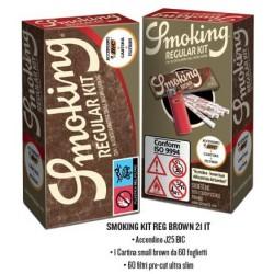SMOKING KIT BROWN...