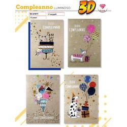 BIGLIETTO B.C. LUMINOSO 3D