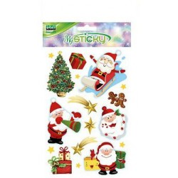 STICKERS NATALE