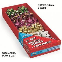 SET NASTRO+COCCARDA12 PZ