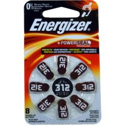 PILE ENERGIZER AC312 BL. 8