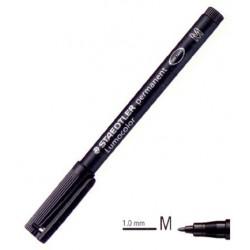 MARKER LUMOCOLOR M 317-9 NERI