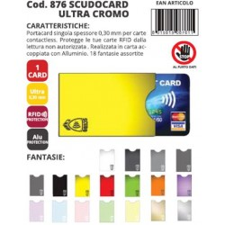 SCUDO CARD ULTRA CROMO 1 POSTO