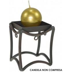 CANDELIERE FERRO ANTICATO...